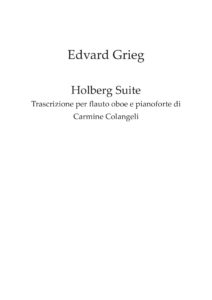 Grieg Holberg Suite