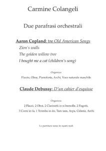 due parafrasi orchestrali